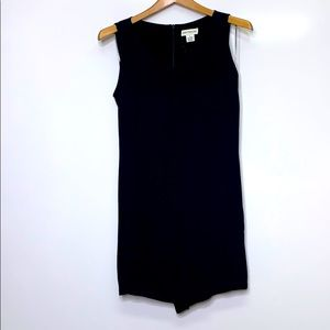 ANN TAYLOR VINTAGE Black Dressy Romper Shorts